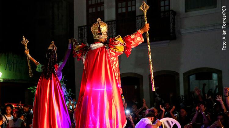 Final do Concurso de Rei Momo e Rainha do Carnaval