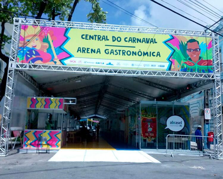 Com nova roupagem Central do Carnaval começa a funcionar