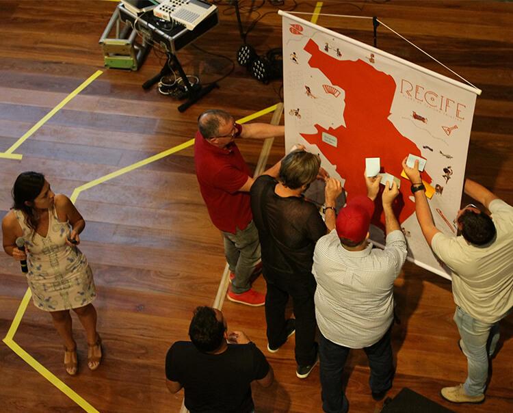 """Seminário """"Marco Zero do Turismo Criativo do Recife"""" reuniu mais de 200 pessoas de diversas áreas da economia criativa e trade turístico"""