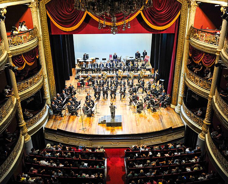 Quarta-feira (26) tem Banda Sinfônica do Recife no Teatro de Santa Isabel