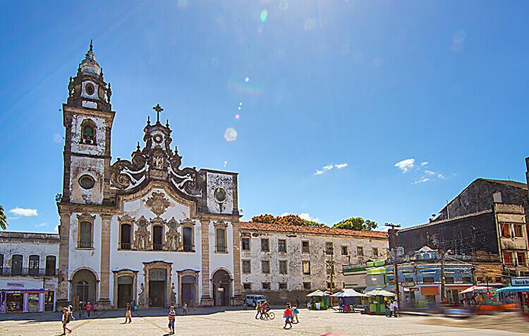 Barrio de Santo Antônio y São José