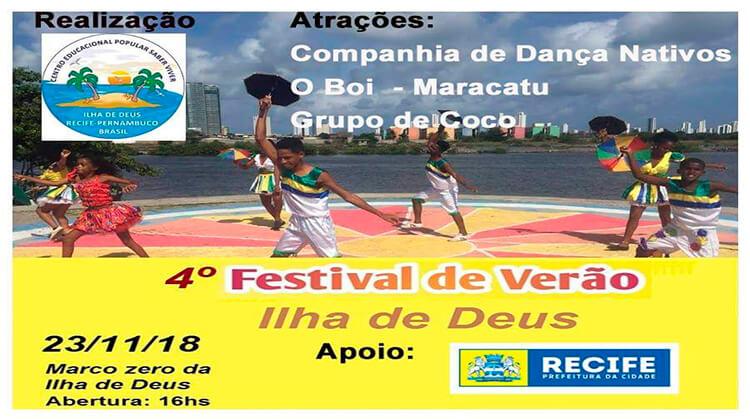 4º Festival de Verão Ilha de Deus
