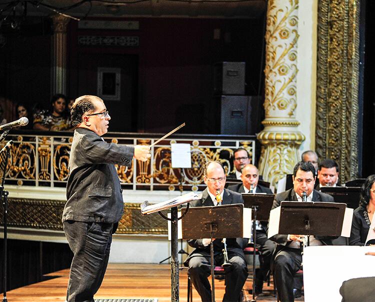 Banda Sinfônica do Recife realiza dois concertos gratuitos e cinematográficos na próxima semana