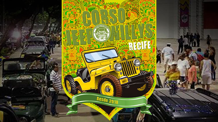 Corso Jeep Willys Recife 2019