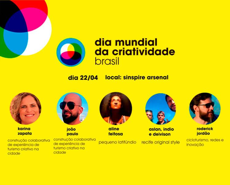 Recife sedia programação para o Dia Mundial da Criatividade